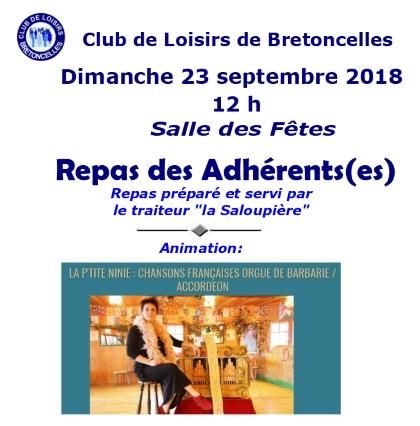 Aff repas des adherents 2018 2